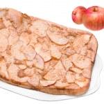Homemade Apple Pie on Dish — Stock Photo