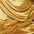 Golden silk — Stock Photo