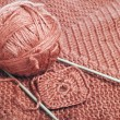 Knitting yarn — Stock Photo #7110996