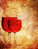 Paper wine — Stock Photo