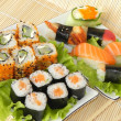 Rolls and sushi. — Stock Photo #7577006