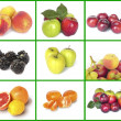 Fruit set. — Stock Photo