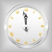 O relógio. — Vetor de Stock