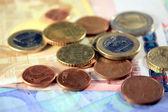 Euroscheine — Stock Photo