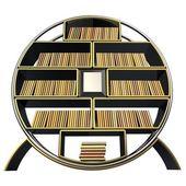 Bookshelf — Stock fotografie
