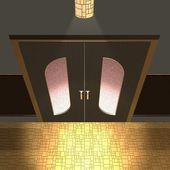 Modern door — Stok fotoğraf