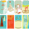 Christmas backgrounds — Vector de stock
