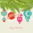 Christmas background — Stock Vector #7400403