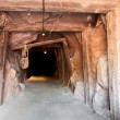 Tunnel mine - Stock Photo