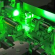 Laser science - Stock Photo