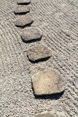 Stone way vertical — Stock Photo