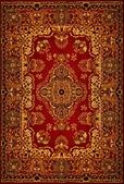 Persian Carpet Texture — Stock fotografie