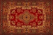 Persian Carpet Texture — Stock Photo