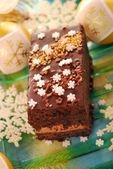 пряничный торт на рождество — Стоковое фото