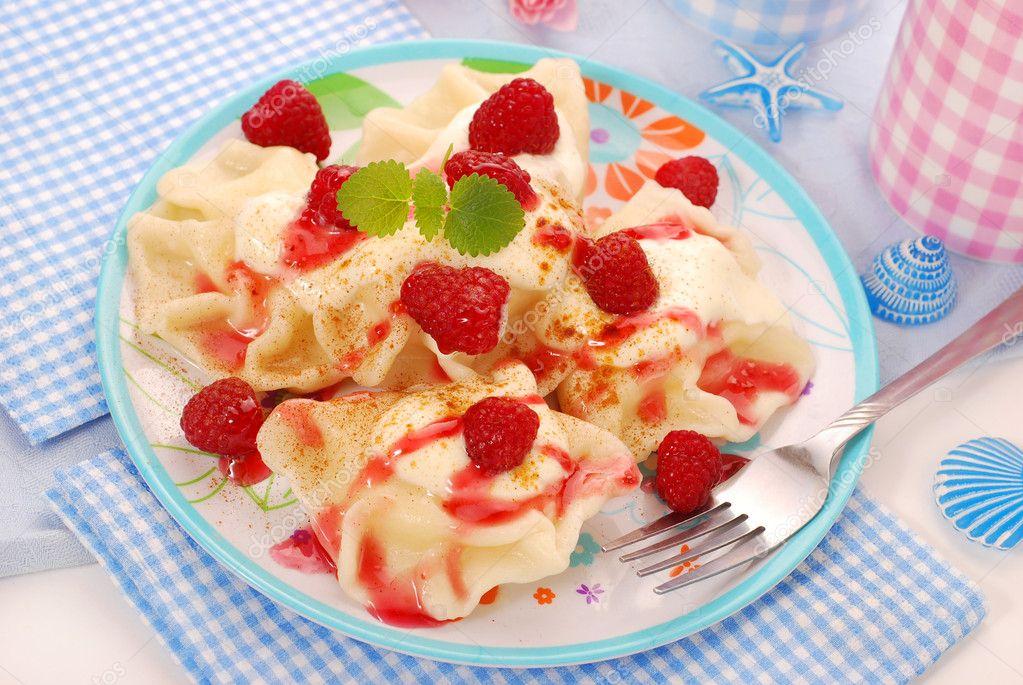 Вареники с ягодой рецепт пошагово