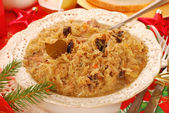 Sauerkraut for christmas — Stock Photo