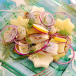 Herring salad with potato and apple — Stock Photo #7350271