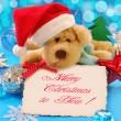 Sweet christmas greetings — Stock Photo