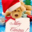 Stock Photo: Sweet christmas greetings
