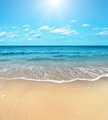 Summer Beach — Stock Photo