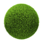 Gras-ball — Stockfoto