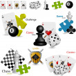 Royalty-Free Stock Vector Image: Game icons