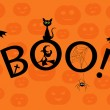 Royalty-Free Stock Vector Image: Boo!