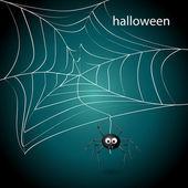 Spider net — Stock Vector