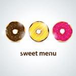 Donut — Stock Vector #7590180
