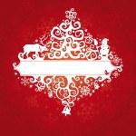 Christmas card vector illustration — Stock Vector