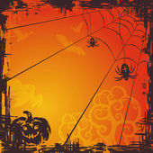 Halloween vector background — Stockvector