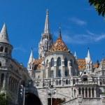 Fisherman´s Bastion in Budapest — Stock Photo