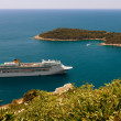 Stock Photo: Cruise liner,