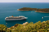 Cruise liner, — Stock Photo