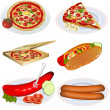 Fast-food collectie 2 — Stockvector  #6856227