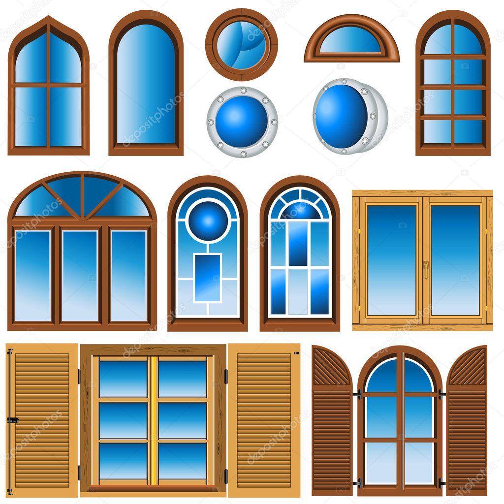 Окно для домика 4