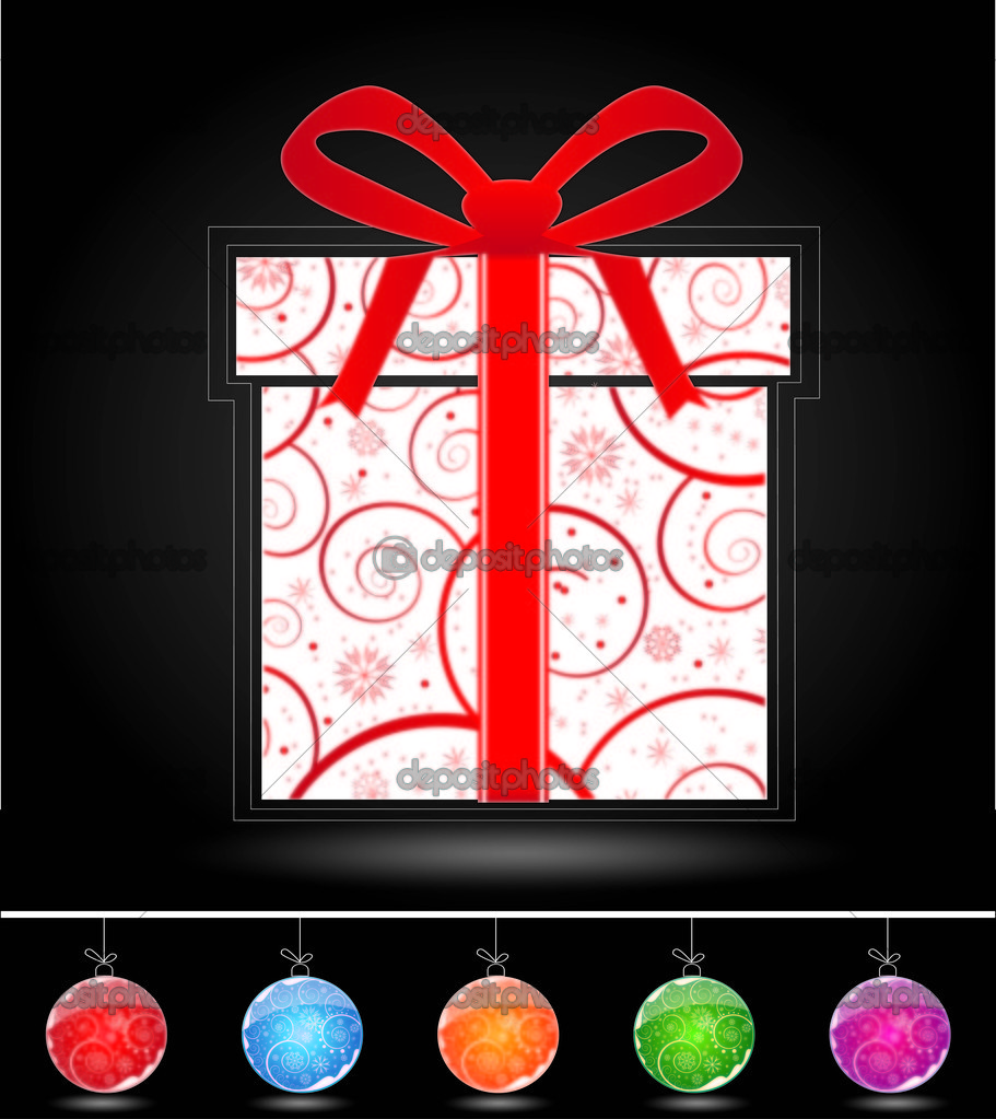 Christmas background  — Stock Vector #7275712