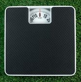 Bathroom Scales — Stock Photo