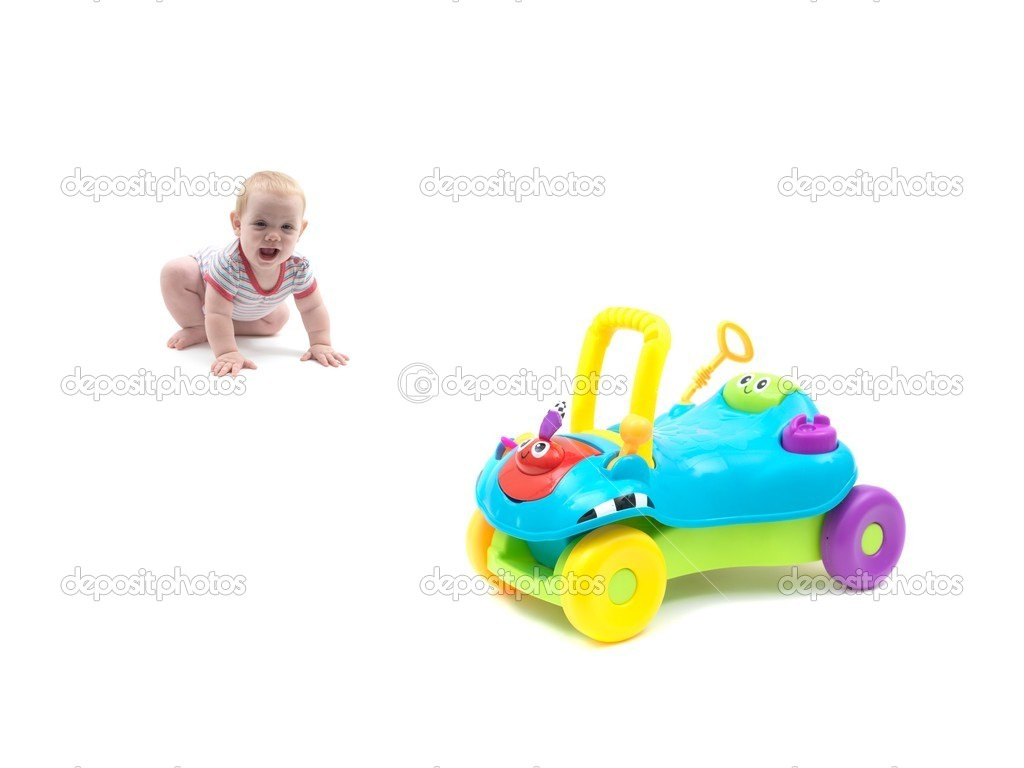 A trike isolated against a white background — Stock Photo #6839728