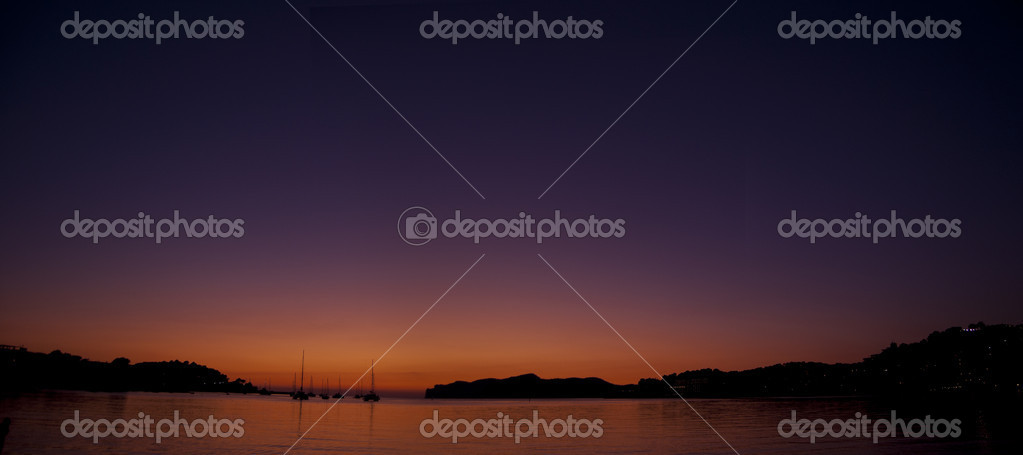 Sea sunset — Stock Photo #7218909
