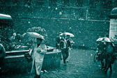 Rain Saint Petersberg — Stock Photo