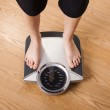 Measuring weight — Stock Photo