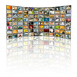 TV-Panel — Stock Photo #7650858