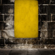 Yellow grunge background — ストック写真