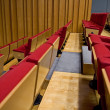 Rows of seats — Stock Photo #7387471