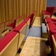 Rows of seats — Stock Photo