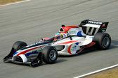 Car racing at A1GP — Stock Photo
