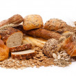 Stock Photo: Assortment of bread