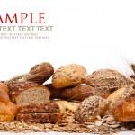 Assortment of bread — Stock Photo