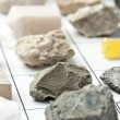 Stock Photo: Collection of minerals